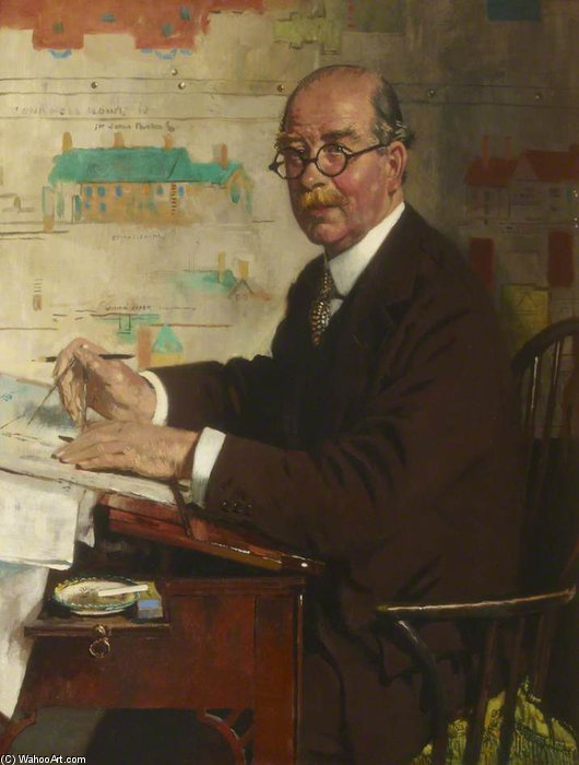 サー·ガイDawber、Priba、Raは、FSA、RGM バイ William Newenham Montague Orpen (1878-1931, Ireland)