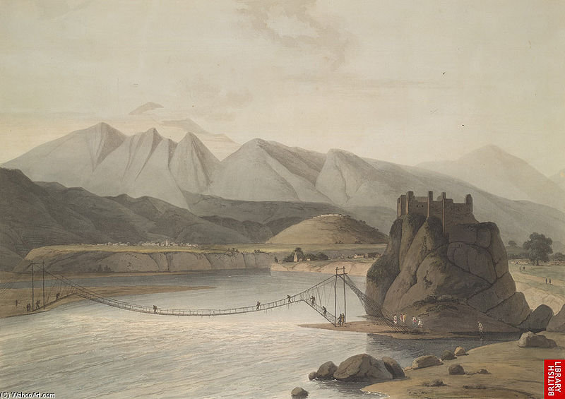 スリナガル、Garhwalの バイ Thomas And William Daniell (1769-1837, United Kingdom)