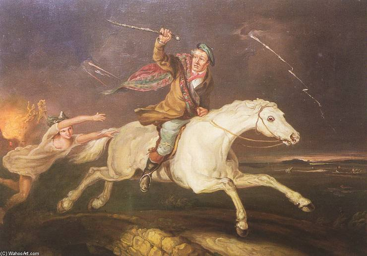 タムO shanter バイ Abraham Cooper (1787-1868, United Kingdom)