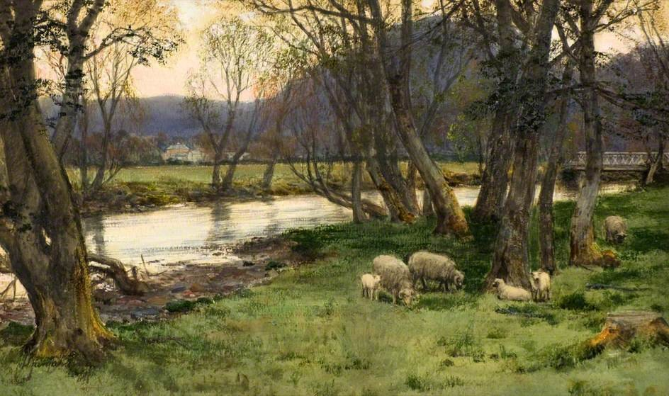 Achray バイ David Farquharson (1839-1907, United Kingdom)