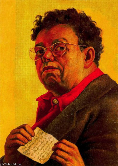 無題 (8999) バイ Diego Rivera (1886-1957, Mexico)