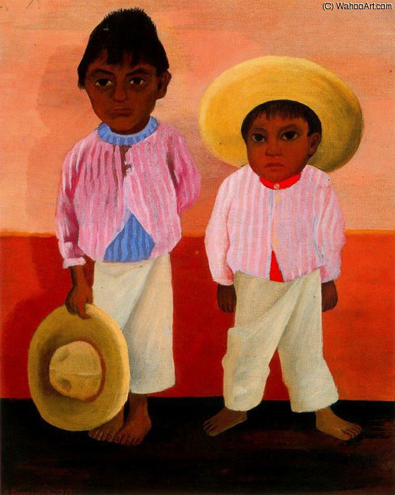無題 (7347) バイ Diego Rivera (1886-1957, Mexico)