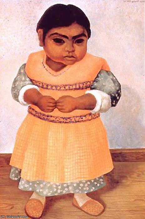 無題 (1438) バイ Diego Rivera (1886-1957, Mexico)