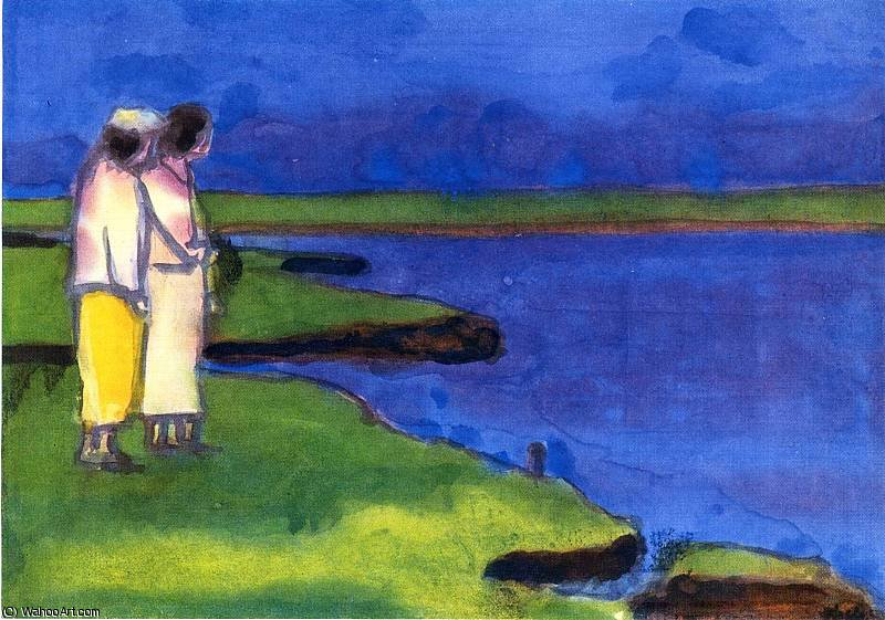 無題 (1562) バイ Emile Nolde (1867-1956, Germany)