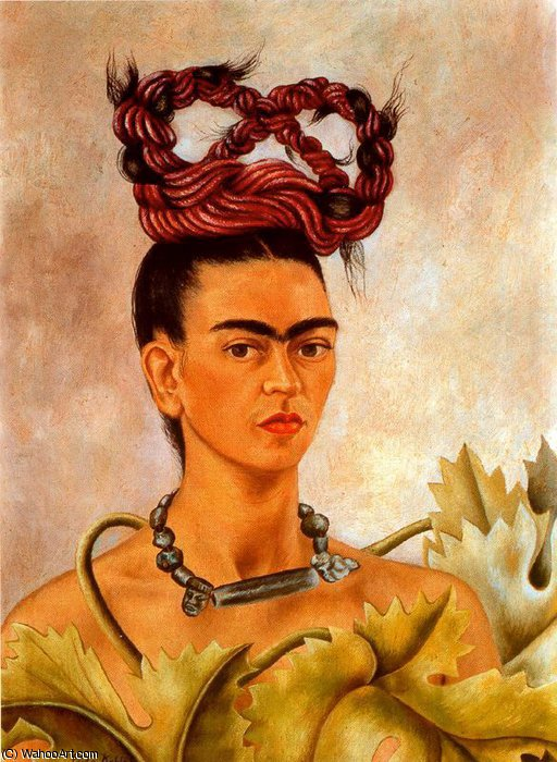 無題 3671   バイ Frida Kahlo (1907-1954, Mexico)