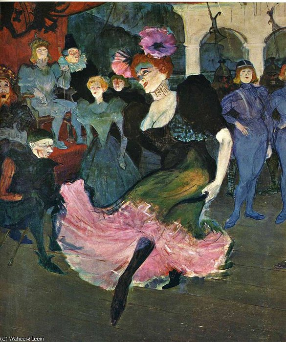 無題 (4147) バイ Henri De Toulouse Lautrec (1864-1901, Second French Empire)