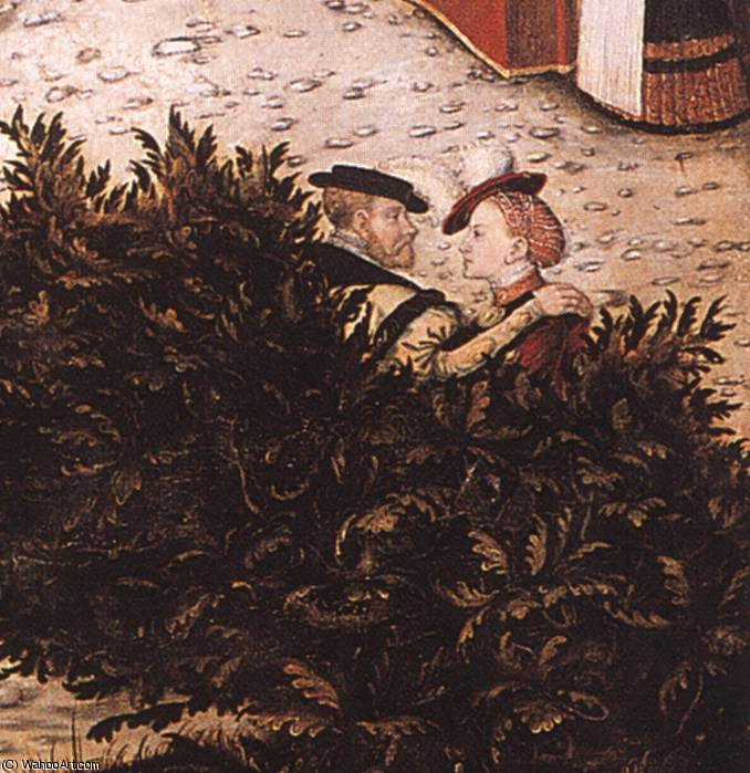 無題 (3624) バイ Lucas Cranach The Elder (1472-1553, Germany)