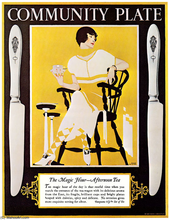 無題(887) バイ Coles Phillips (1880-1927, United States)