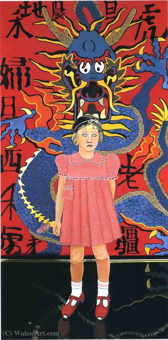 無題(370) バイ Joan Brown (1938-1990, California)