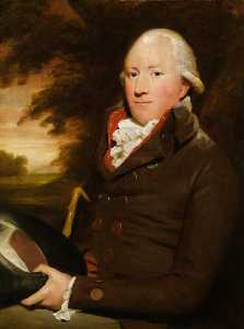 Henry Raeburn - チャールズ ゴードン の Buthlaw , lonmayとcairness ( 1747–1797 )